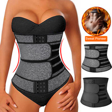 Faja Shapewear Corset-Sweat-Belt Trimmer Sauna-Waist-Trainer Weight-Loss-Compression