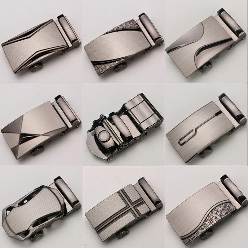 Автоматическая пряжка пояса для мужчин без тела высокого качества сплав дизайнерские модные мужские брендовые Роскошные подходящей ширины 3,5 см ремни        АлиЭкспресс