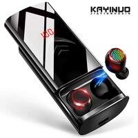 Tüketici Elektroniği'ten Bluetooth Kulaklık & Kulaklıklar'de KAYINUO HIFI TWS bluetooth kulaklık kablosuz LED ekran 6500mAh güç banka bluetooth kulaklık pil telefon şarj cihazı