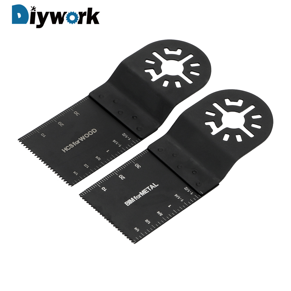 DIYWORK 2 Piece/set  For Multimaster Power Tool Circular Saw Blades For Metal Wood Cutting Wood Cutting Saw Blade