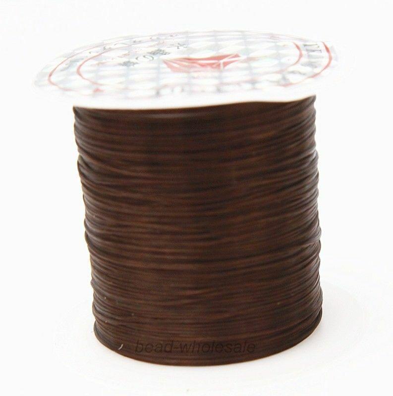 393 дюйма/рулон, крепкий эластичный шнур для бисероплетения с кристаллами, 1 мм, для браслетов, стрейчевая нить, ожерелье, сделай сам, для изготовления ювелирных изделий, шнуры, линия - Цвет: Color 21