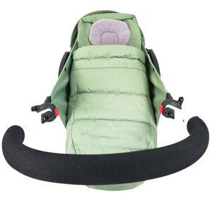 Image 5 - Wózek dziecięcy gniazdo urodzenia noworodek dla Babyzen yoyo + Yoya Babytime wózki koszyk akcesoria do wózka dziecinnego śpiwór zimowy