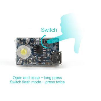 1Set Flash Strobe Lamp Night Flight Lights For DJI Mavic Air/Pro Spark Phantom Drone Accessories Kit 3
