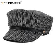 Женская винтажная шапка buttermere кепка с узором в елочку для