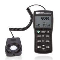 TES-1339 라이트 미터 측정 레벨 0.01 ~ 999900 lux 광도 측정