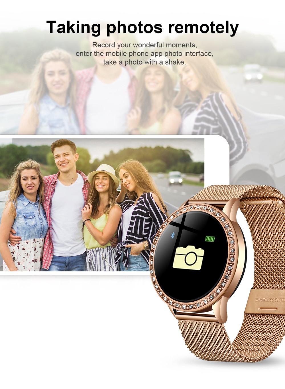 H8cbf644beaa1429cbf9f1fa9e897071dW LIGE 2020 New Smart Watch Women Men Heart Rate Blood Pressure Sport Multi-function Watch fitness tracker Fashion smartwatch+Box