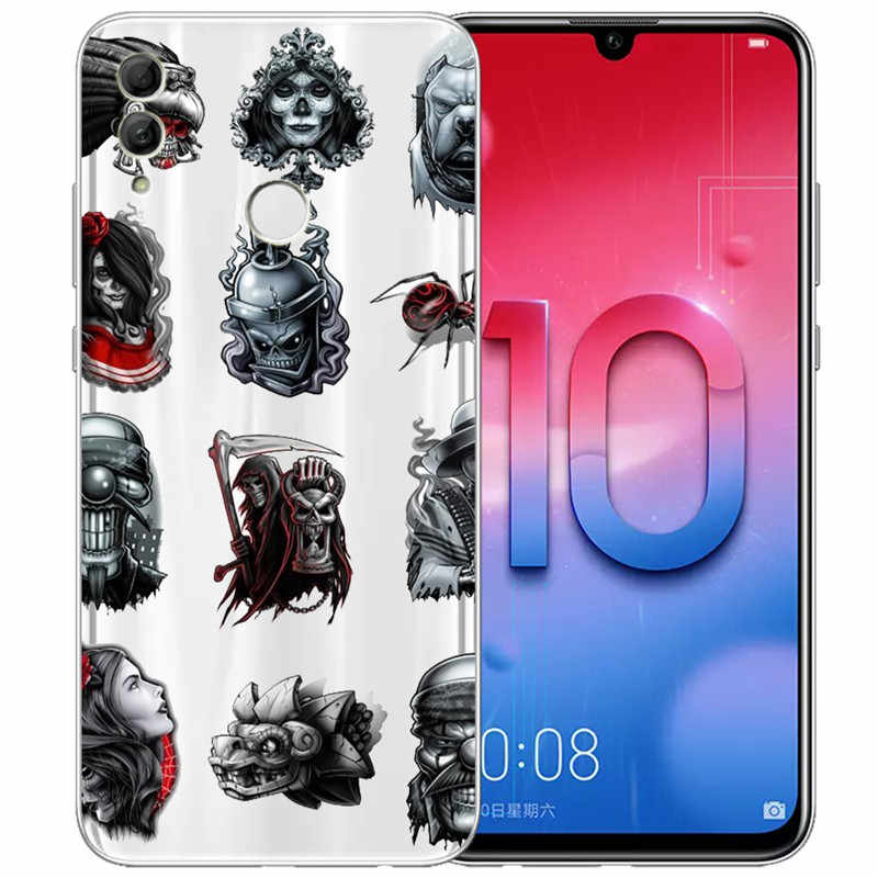 Animal marvel For Huawei Honor 10 9 8 8X 8C 7A 7C 7X 7 6X 6A 20 Pro V20 20i Lite phone Case Cover Funda Coque Etui capa gift