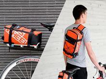 купить Roswheel Bicycle Bag Men Women Bike Rear Seat Saddle Bag / Crossbody Bag For Cycling Accessories Outdoor Sport Riding Backpack недорого