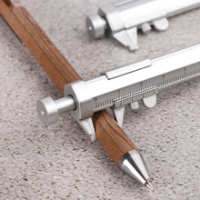 Stationery Roller-Pen Ball-Point-Measuring Multifunction New 1PC Ink-Pen Writing-Instrument
