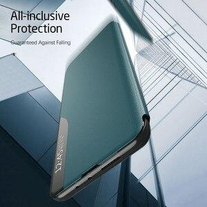 Image 3 - poko m 3 pro case smart side view window leather flip for xiaomi pocophone poco m3pro m3 pro 5g 2021 magnetic bracket book coque