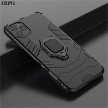 Роскошный чехол с магнитным кольцом для iPhone 11 Pro XS MAX X XR 5 6 S 6 S 7 8 Plus 7Plus 8 Plus Чехол для мобильного телефона противоударный корпус