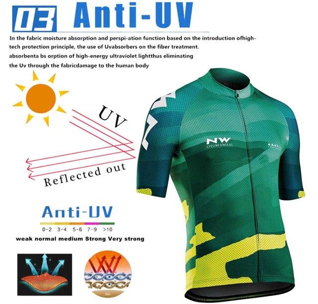 2019 verão de secagem rápida conjunto camisa de ciclismo mtb estrada bicicleta ciclismo roupas respirável mountain bike ciclismo conjunto 4