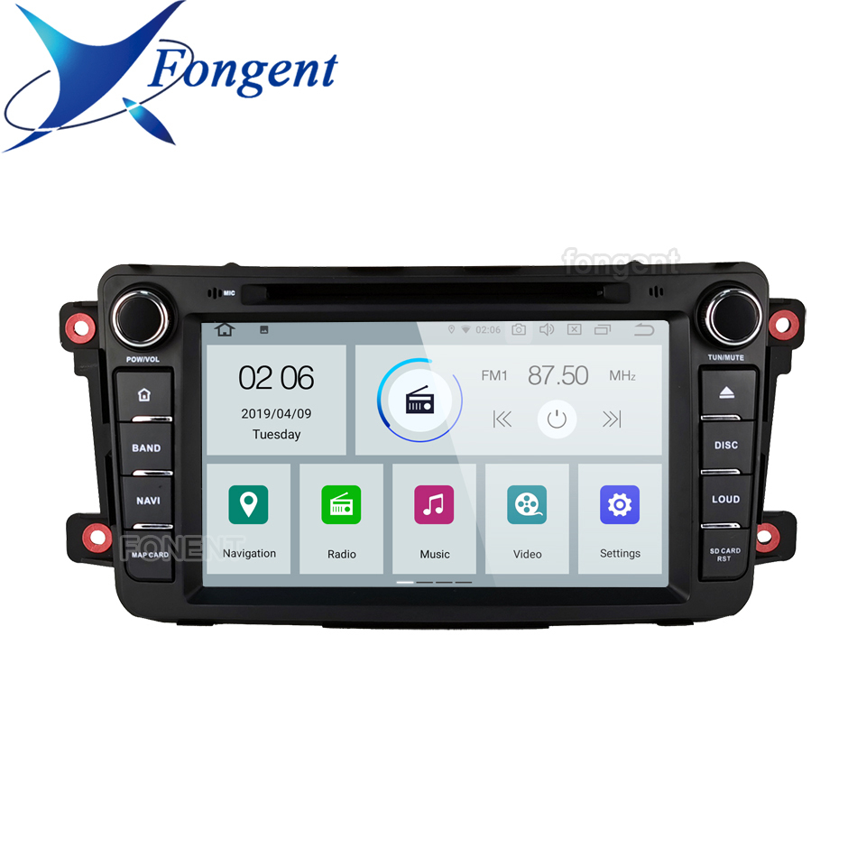 DSP PX6 IPS Android 9.0 4GB 64GB Car DVD Player GPS Map RDS Radio Bluetooth 5.1 For <font><b>Mazda</b></font> <font><b>CX9</b></font> 2009 2010 2011 2012 2013 <font><b>2014</b></font> 2015 image