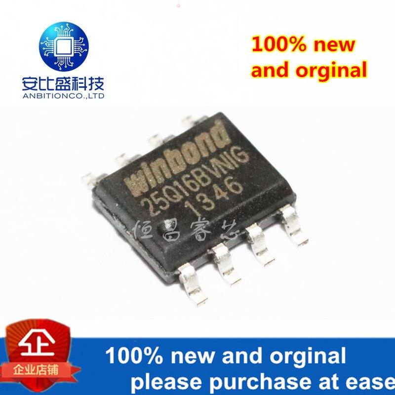 10pcs 100% New And Orginal W25Q16BVSNIG Silk-screen 25Q16BVNIG W25Q16 Iin Stock