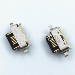 10 шт. микро USB 5Pin разъем для зарядки данных Порт шлейф гибкий кабель для Motorola Moto G7 Power G7 Play Mini USB