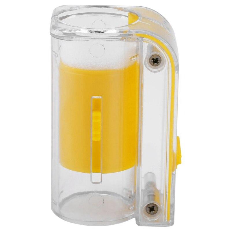 (12 pièces) abeille reine marquage receveur en plastique une main marqueur bouteille plongeur en peluche apiculteur outil jardin apiculteur reine Be