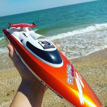 Boy RC Racing Boat FT009 2.4GHz Remote Control Electric Spee