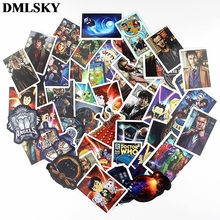 58 Pcs/set DMLSKY Doctor Who Funny album sticker Waterproof Scrapbooking for Car Luggage Laptop Phone Decal M3881