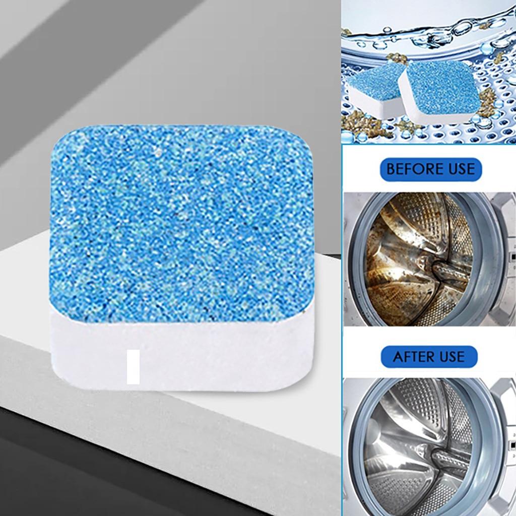 10pcs Antibacterial Washing Machine Cleaner Trough Cleaning Durable Kit Lavadora