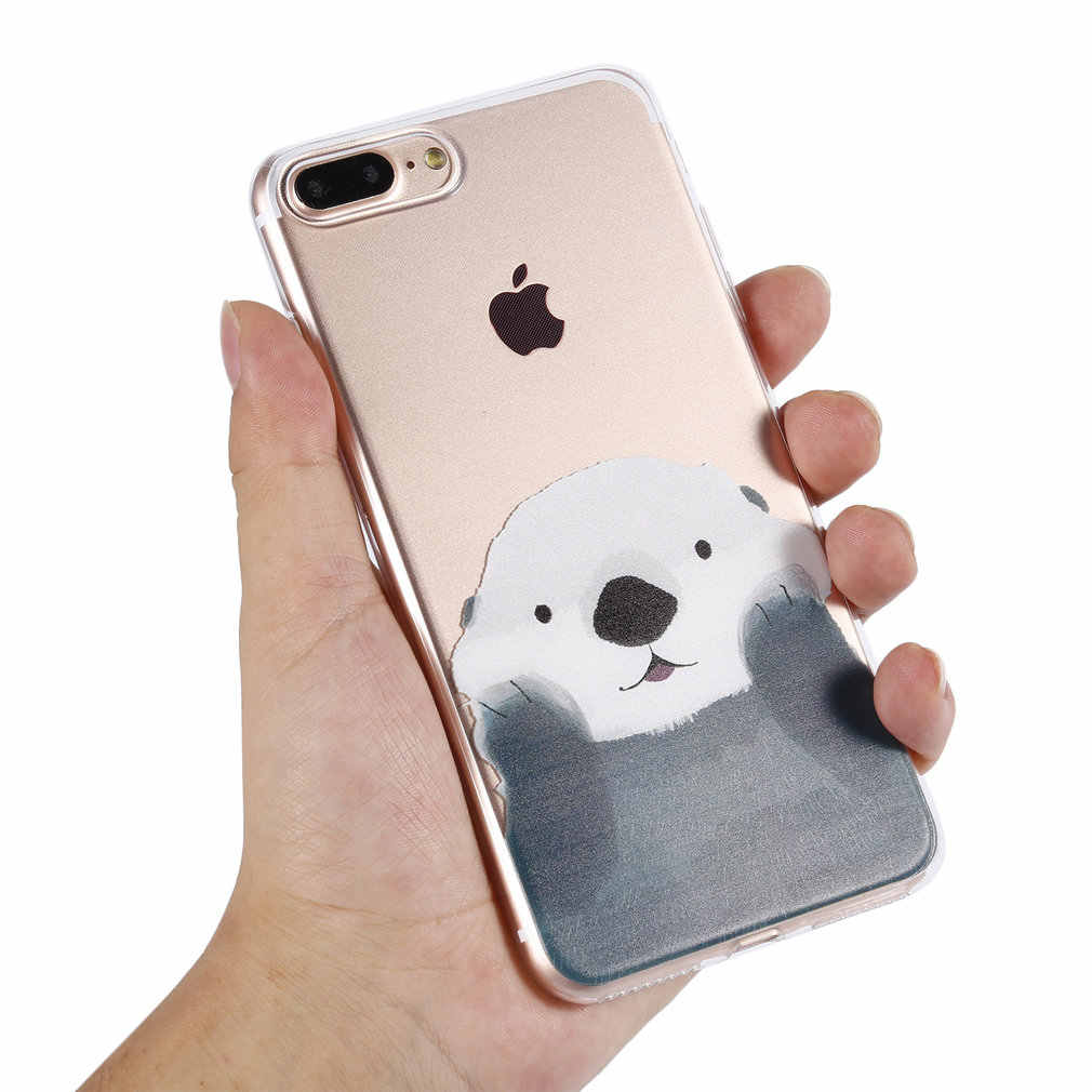Arvin Case for  Iphone 6s Soft Clear Protective TPU Back Cover for Iphone 7 Plus Transparent Phone Case for Iphone 7