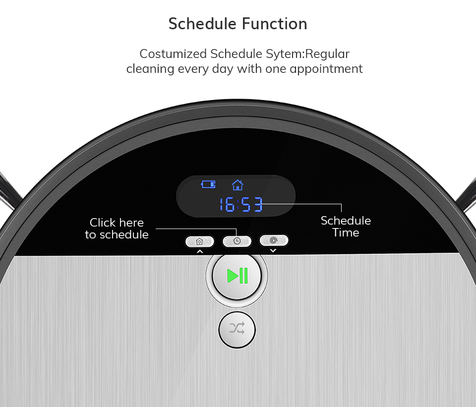 H8cc143bf23e14d42a5a00c398361433aH ILIFE V8s Robot Vacuum Cleaner Sweep&Wet Mop Navigation Planned Cleaning large Dustbin large Water Tank Schedule disinfection