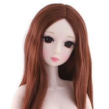 60 см BJD кукла с 20 подвижными суставами и 4D имитацией ресниц 1/3 парик средней длины Женская мода модификация тела девушка Обнаженная игрушка