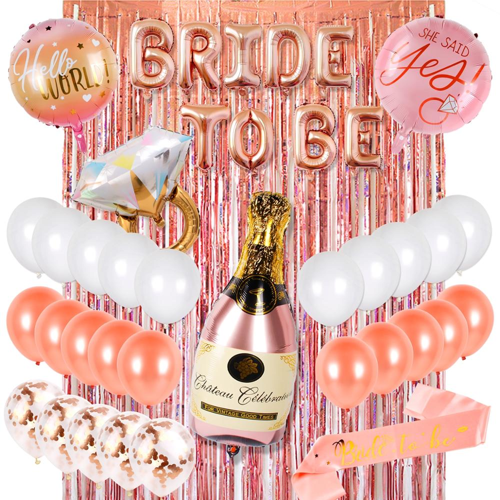HEN PARTY Rose Gold Vintage Bride to Be Accessories Party Favours NEW