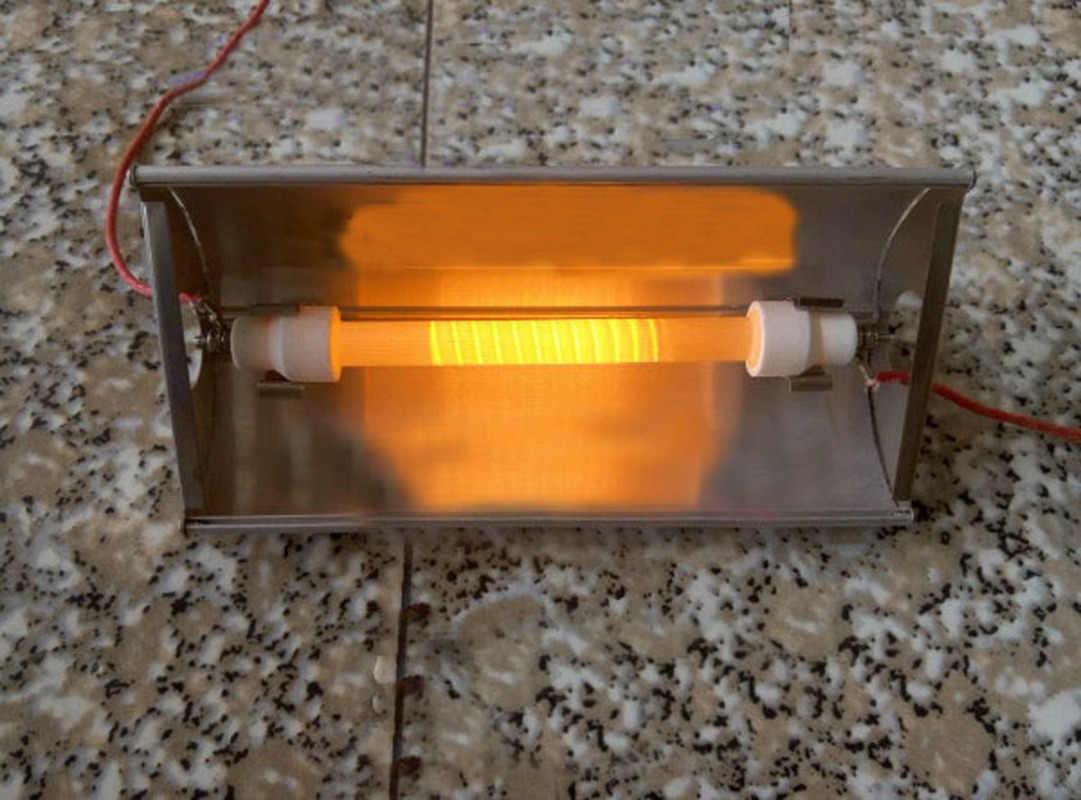 20pcs einzigen rohr heizstrahler badezimmer ofen innen zubehör infrarot  quarz malen backofen aluminium reflektor