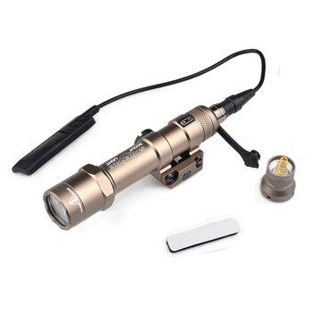 WADSN Тактический Surfire M600 M600B Скаут свет светодиодный мини подсветка для оружия пистолет свет с 20 мм Пикатинни Крепление