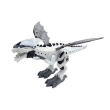 Intelligent Dinosaur Model Electric Remote Control Robot Mechanical Spray Dinosaur-Shaped Electric Toy Children Hobby Toys(China)