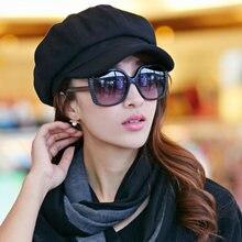 Gazeciarz czapki nowy przyjeżdża kobiety gazeciarz Gatsby czapka ośmioboczna Baker szczyt Beret jazdy kapelusz kobiet ochrony przeciwsłonecznej kapelusze malarz Tour Cap