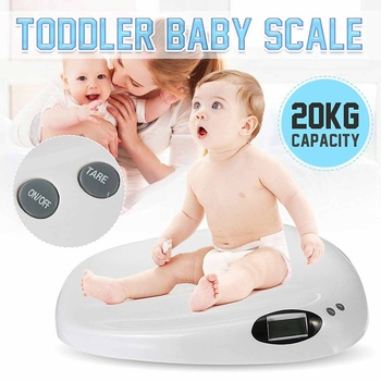 20kg/44lb baby scales Multi-function digital display of intelligent boys girls electronic scales growth weighing health