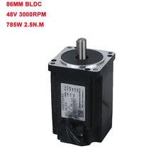 Двигатель постоянного тока lk86bl13048 48 В 750 Вт 3 фазы 130
