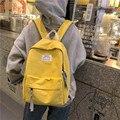 Милый школьный рюкзак для девочек  Холщовый Рюкзак  женские Наплечные сумки  дорожный студенческий Школьный рюкзак  подростковые рюкзаки  ...