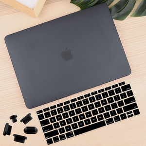 """Image 3 - Crystal Clear Matte Hard Case Cover for Macbook Pro 13.3 15 16 2020 A2251 A2289 Pro Retina 12 13 15""""Air 11 13 2020 A2179 A1932"""
