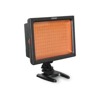 Image 5 - Frete grátis yn160 YN 160 160led luz de vídeo com filtros para canon nikon câmera/filmadora, luz led iluminação fotográfica