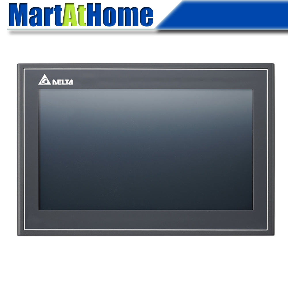 DELTA DOP-110WS Advanced Ethernet 10.1 Inch TFT Touch Panel HMI Human Machine Interface 2 COM Ports 256 MB USB