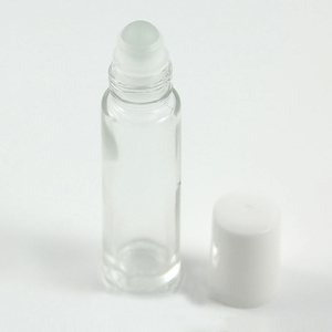 Image 4 - Free Shipping 3ml 5ml 7ml 10ml Transparent Glass Perfume Roll on Bottle Empty Clear Make up Essential Oil Roller Container