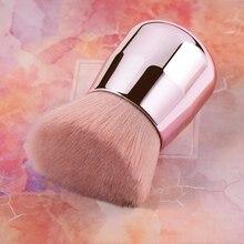 Nylon Bristles Plastic Brush Handle Face Foundation Loose Powder Makeup Brushes makeup brushes