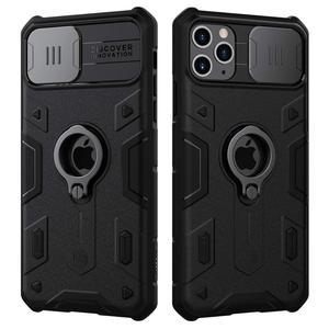 Image 2 - Ochrona aparatu dla iPhone 11 Pro Max pierścień stojak Case ,NILLKIN slajdów pokrywa dla iPhone 11 6.5 2019 pokrywa dla iPhone 11 Pro przypadku