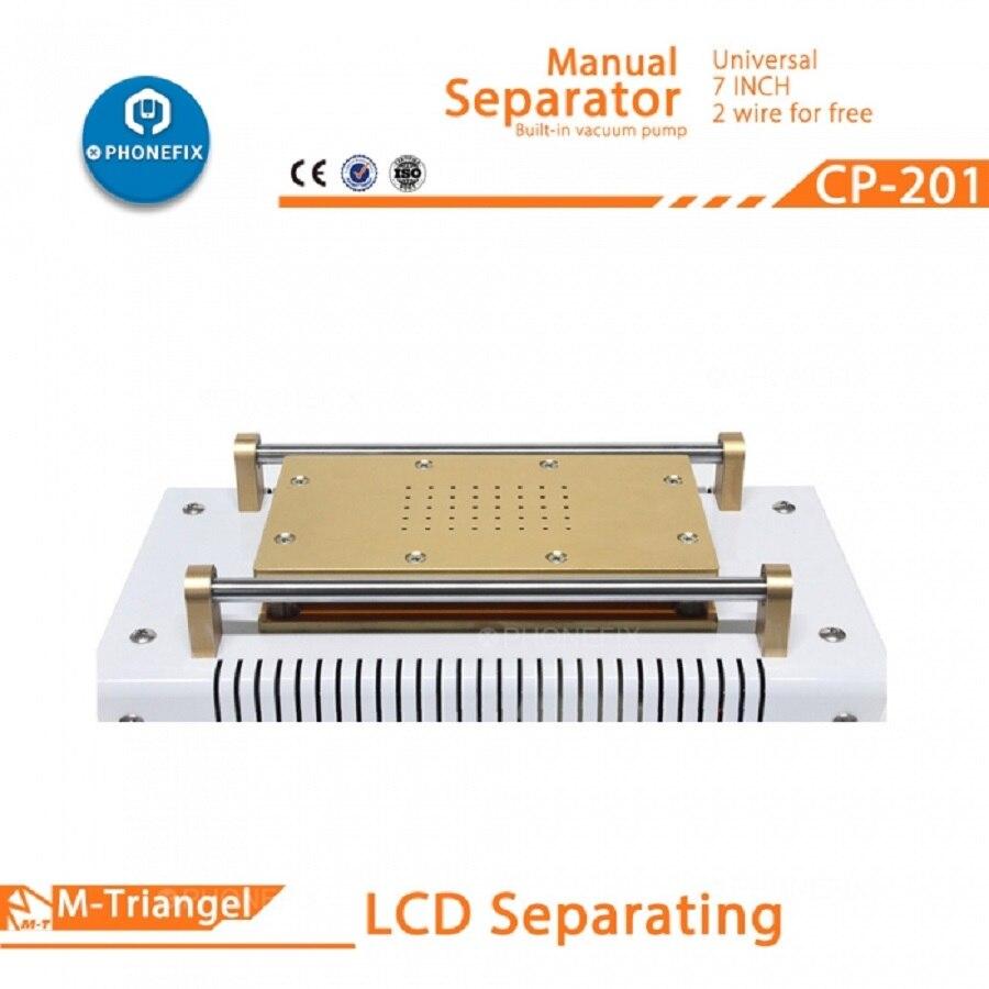 Professional Built in Pump Vacuum Glass LCD Screen Touch Screen Separator Machine 7 inches Phone LCD Screen Disassemble Repair