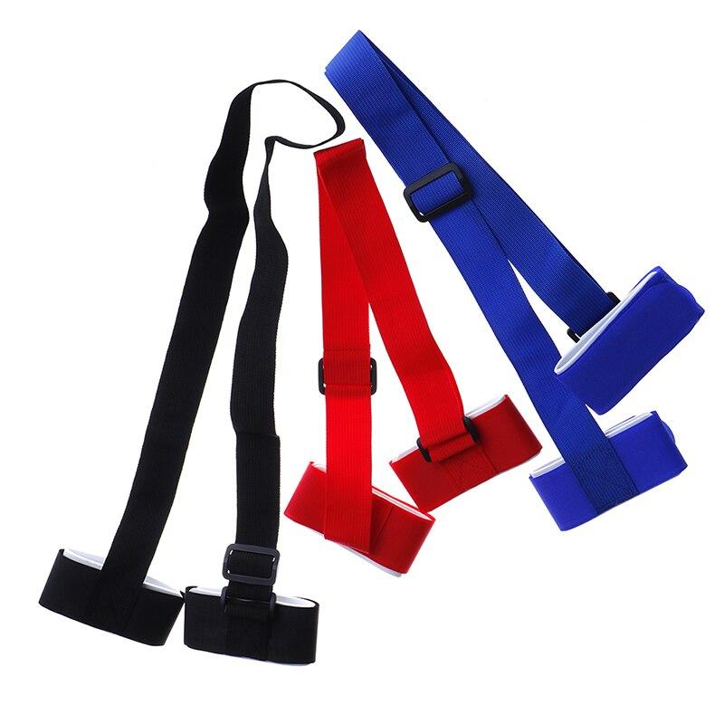 1pc Adjustable Skiing Handle Strap Pole Shoulder Carrier Handle Strap Bag Ski Snowboard Handbag Hand Strap