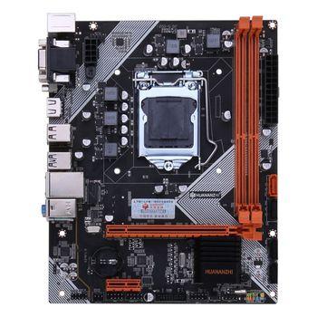 Huananzhi B75 Desktop Motherboard LGA1155 for i3 i5 i7 CPU Support ddr3 Memory b75 lga 1155 motherboard socket lga1155 ddr3 32gb sata 3 0 usb3 0 dual channel for intel i3 i5 i7 xeon not ddr4 not m 2