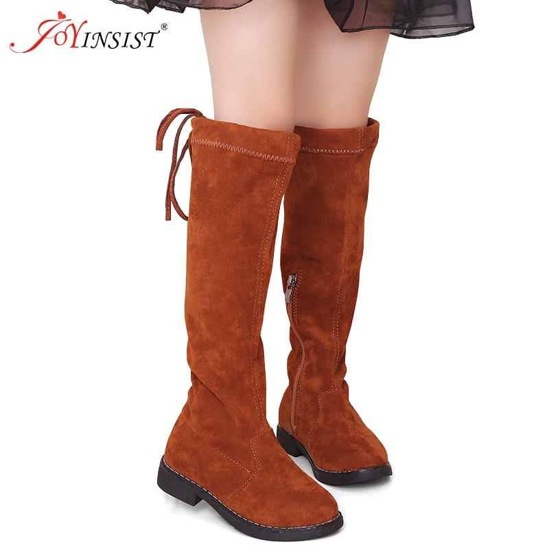 meninas altura do joelho botas altas princesa 01