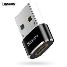 Адаптер Baseus USB на usb type C OTG USB-C конвертер type-c адаптер для samsung S10 Xiaomi Mi 9t Oneplus 7 6t USB OTG разъем