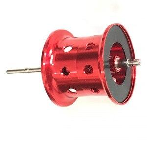 Image 3 - Original abu garcia carretel de pesca preto max3 baitcasting carretel de reposição da liga alumínio peças reposição acessórios para bmax3