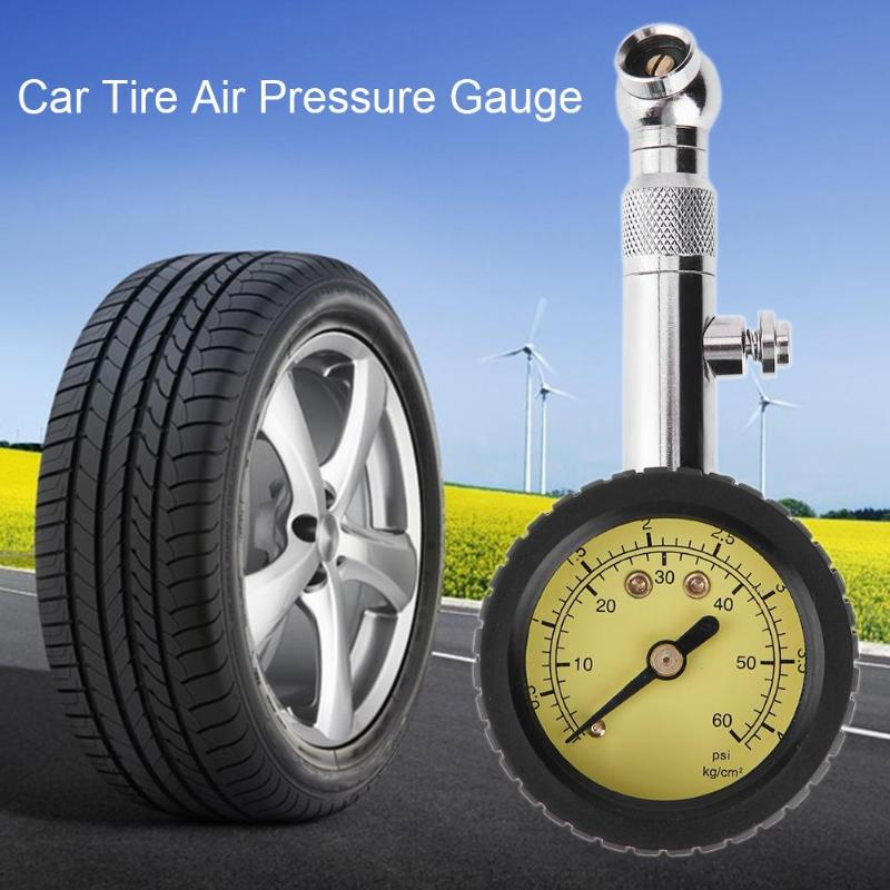0-60psi Accurate Car Auto Tire Air Pressure Gauge Precision Dial Meter Car Digital Tire Pressure Gauge