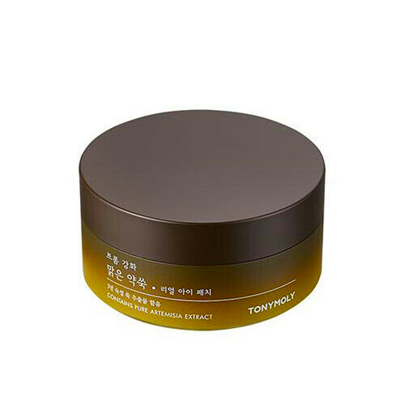 TONYMOLY Contains Artemisia Real Eye Patch 60pcs Collagen Eye Mask Remove Eye Bag Dark Circles Edema Eye Care Face Firming Mask