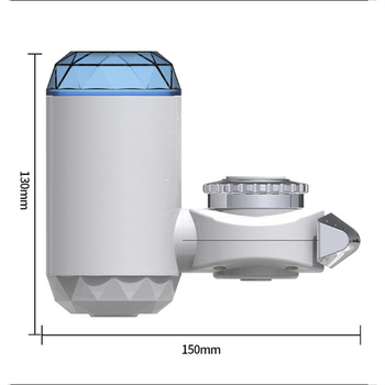 Mini Tap Water Purifier Household Faucet Water Filter Kitchen Faucet Washable Ceramic Percolator Water Filter bubbler kitchen faucet tap water purifier washable ceramic percolator household water purifier ceramic activated carbon filter element