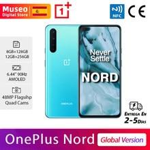 OnePlus Nord, Versión Global, 8GB/12GB RAM 128GB/256GB ROM, 5G teléfono móvil, 6.44'' 90Hz AMOLED, 48MP Quad Rear Cámara, 32MP Dual Front Cámara, Warp Charge 30T